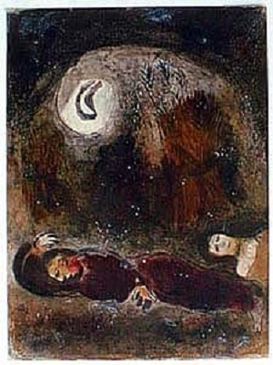 Marc Chagall lithograph